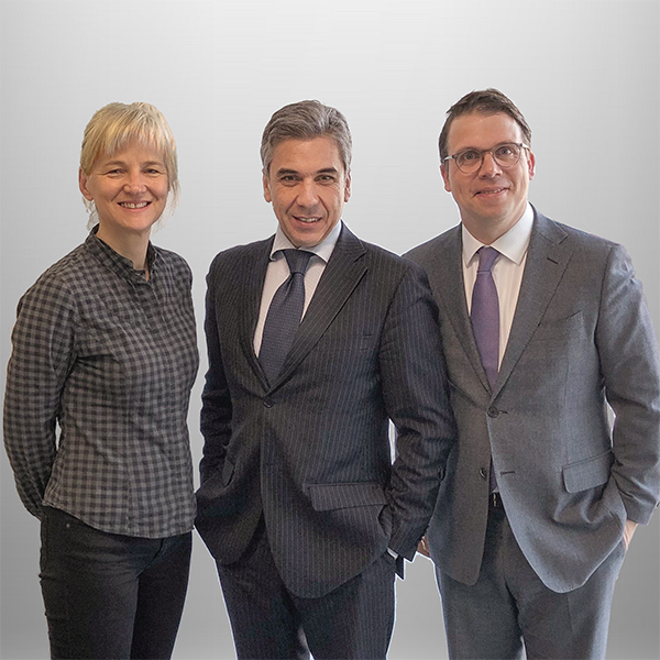 Catherine Brun, Gaetano Mazzitelli and Götz Lincke at the PRISMA Shareholder Meeting on 27th March 2019.